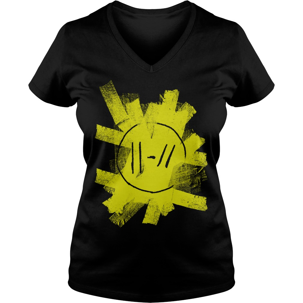 Premium Twenty One Pilots T-Shirt Ladies V-Neck