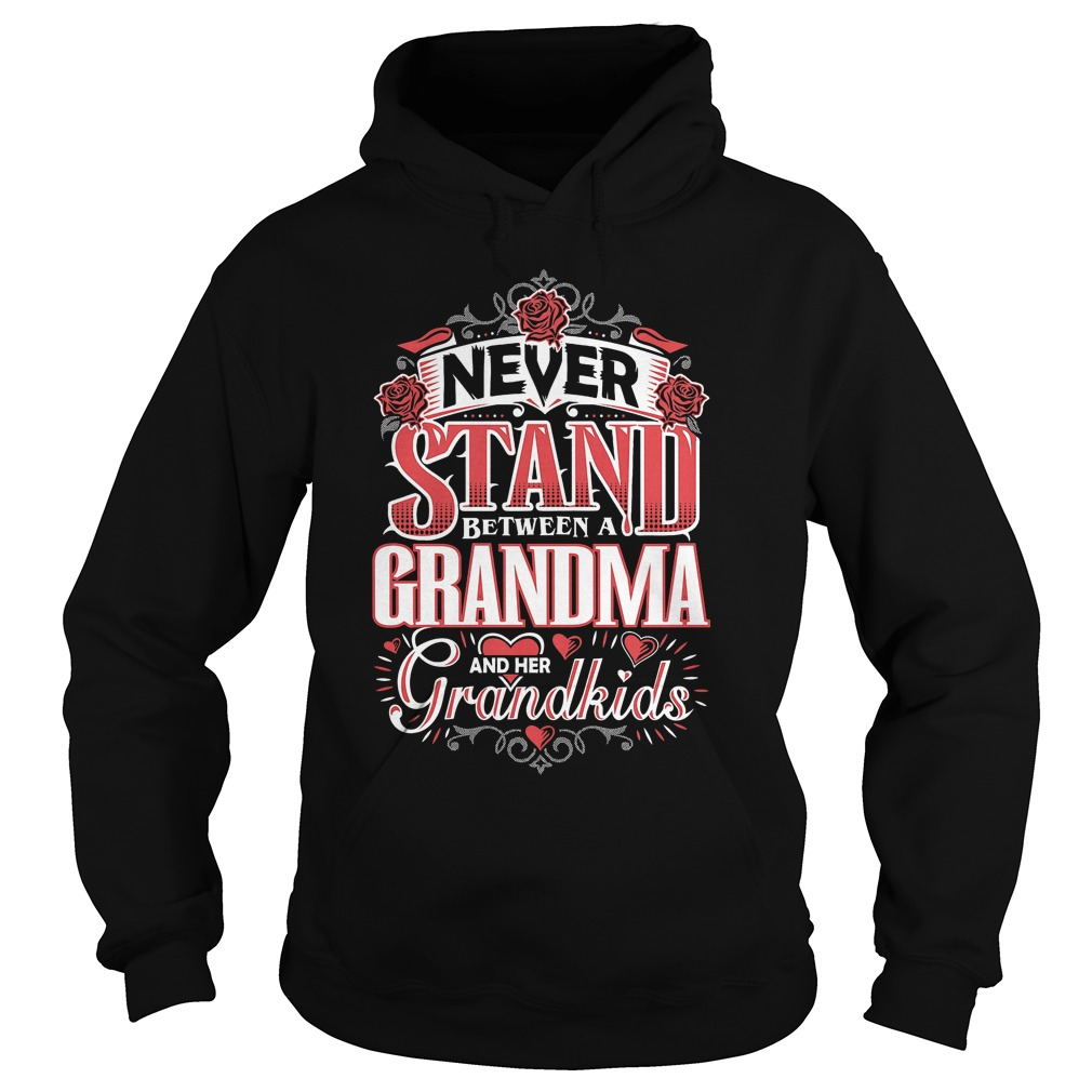 Shouldn't Stand Between A Grandma and Her Grandkids T-Shirt Hoodie