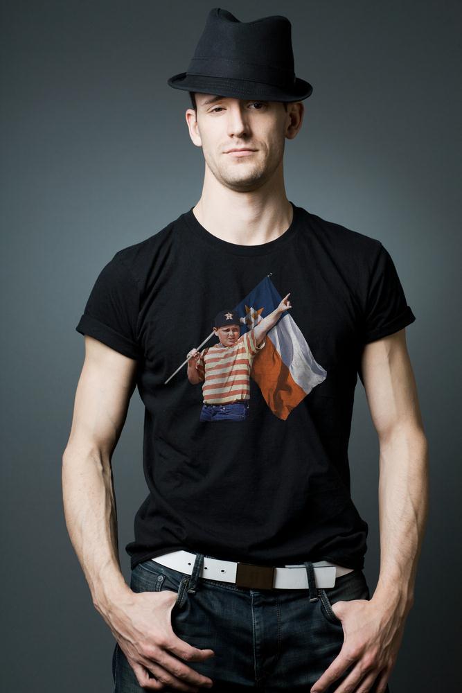 The Sandlot With Houston Astros Flag T Shirt
