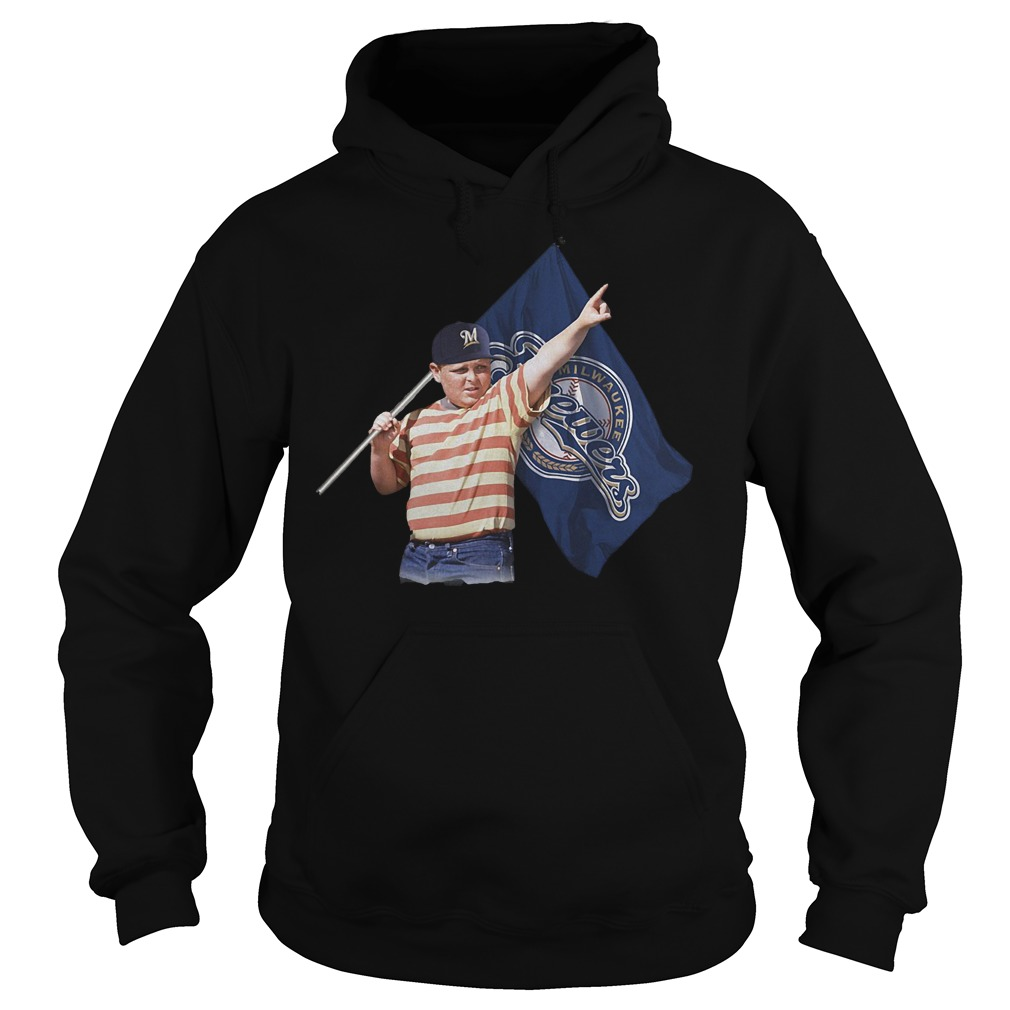 The Sandlot With Milwaukee Brewers Flag T-Shirt Hoodie