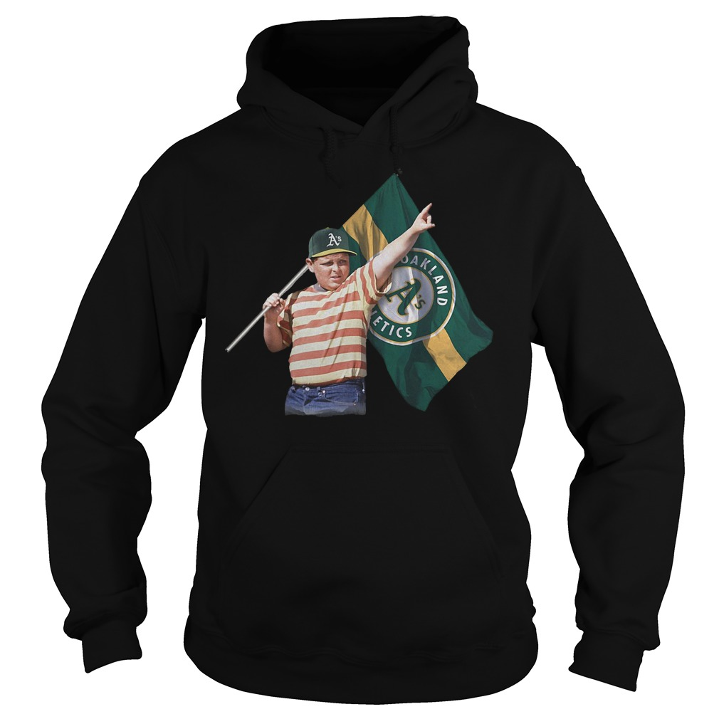 The Sandlot With Oakland Athletics Flag T-Shirt Hoodie
