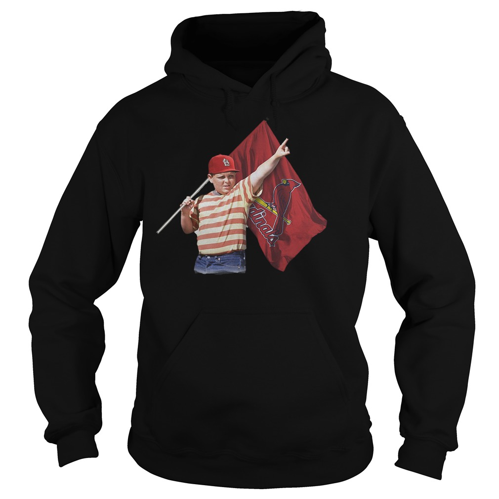The Sandlot With St Louis Cardinals Flag T-Shirt Hoodie