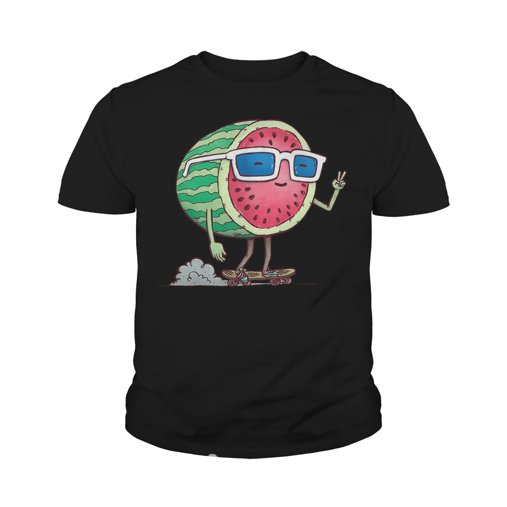 Watermelon Skater T-Shirt Youth Tee