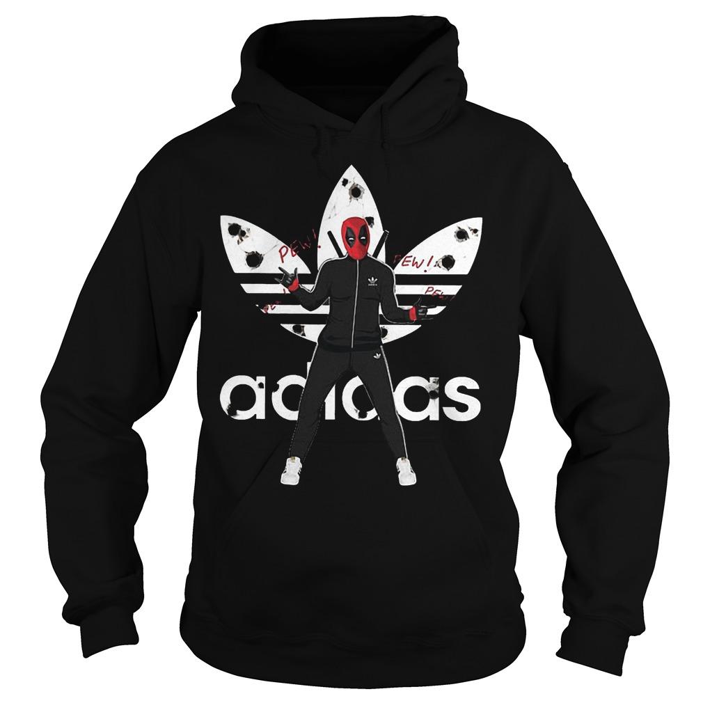 Official Adidas Deadpool Shirt Hoodie