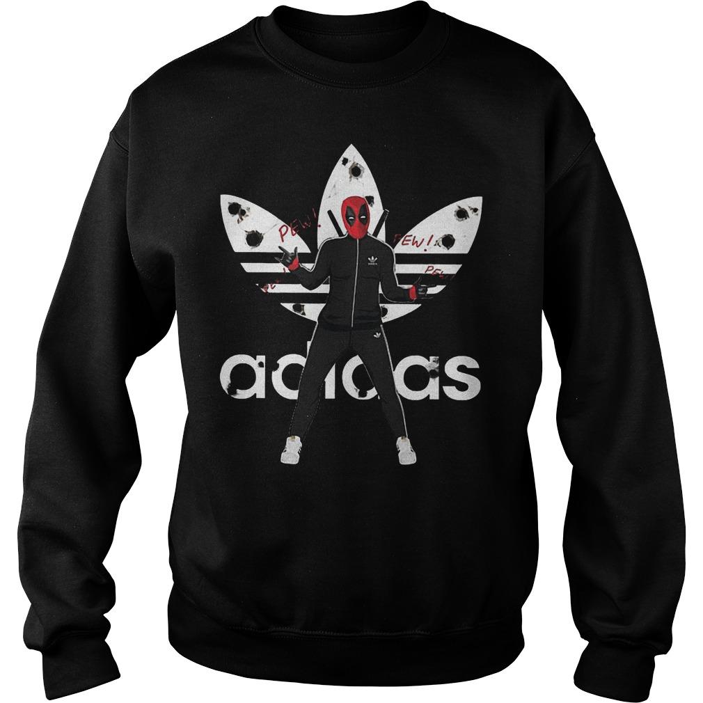 Official Adidas Deadpool Shirt Sweatshirt Unisex