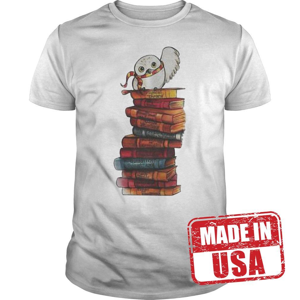Original Harry Potter Owl And Books Shirt