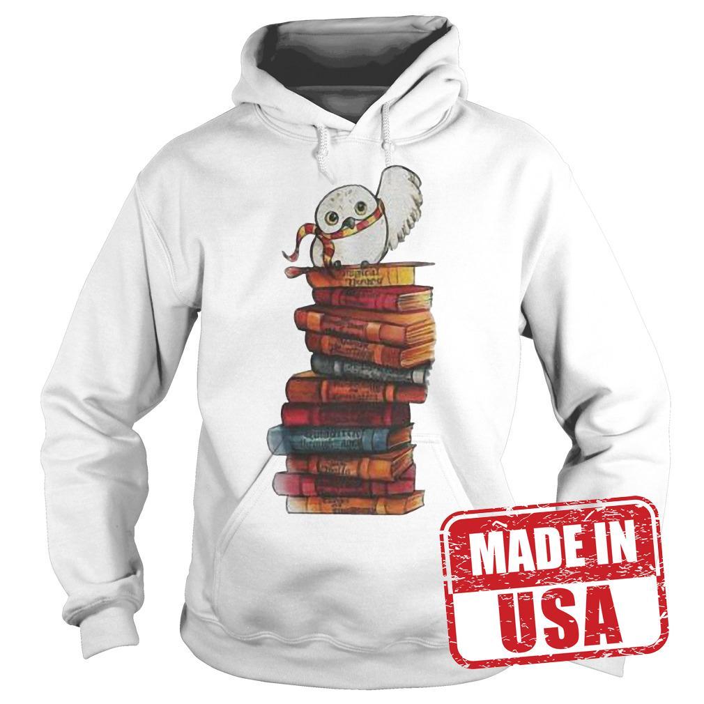 Original Harry Potter - Owl And Books Shirt Hoodie
