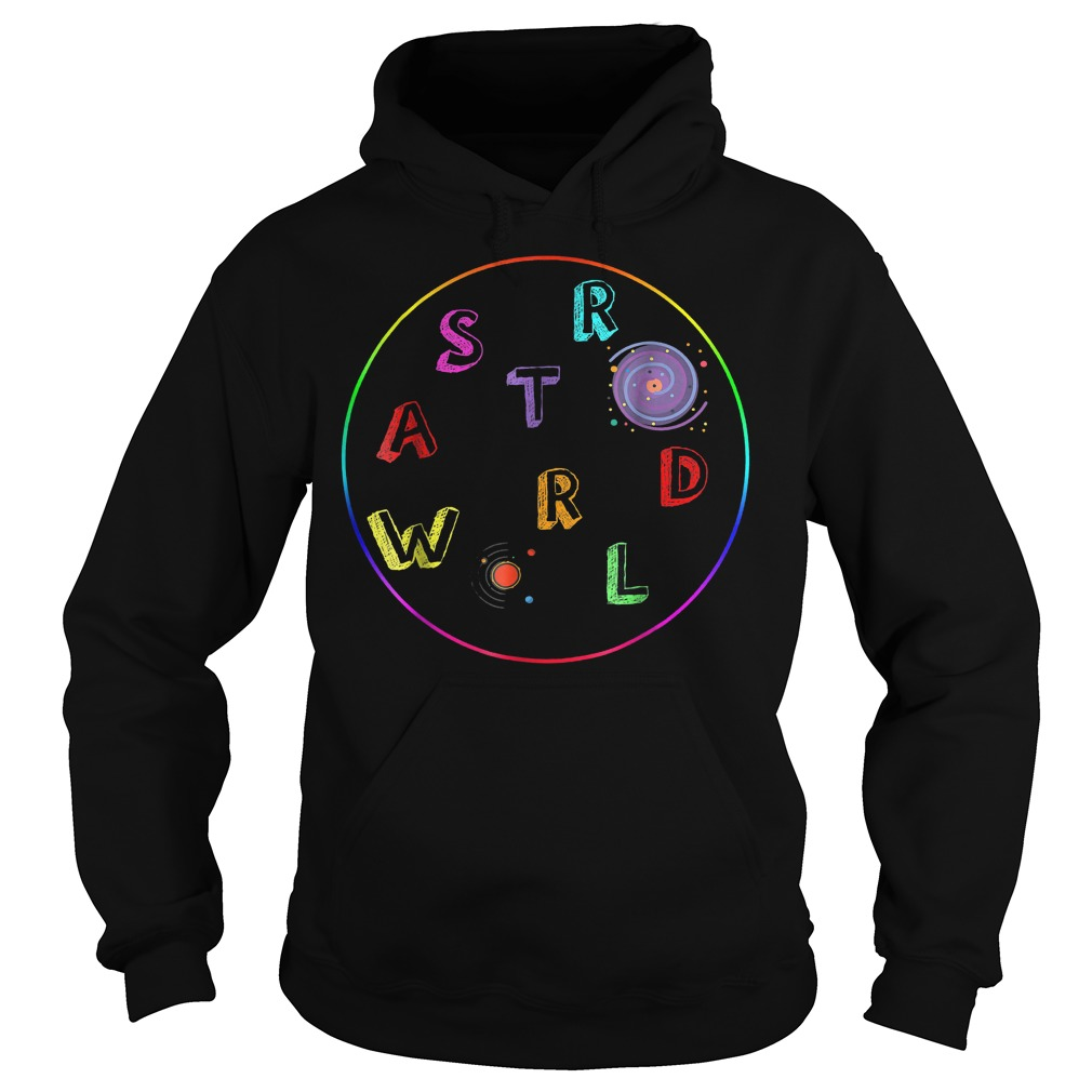 Premium Galaxy Astroworld shirt Hoodie