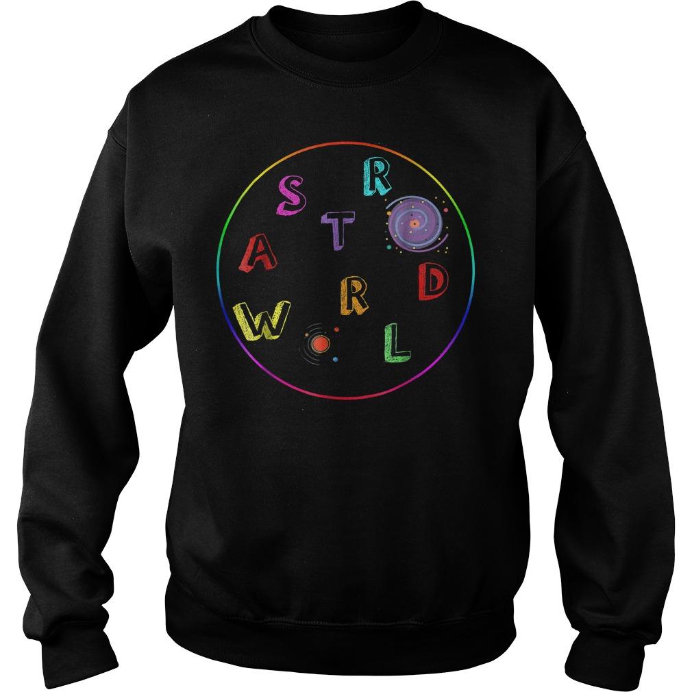 Premium Galaxy Astroworld shirt Sweatshirt Unisex