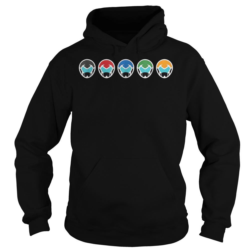 DreamWorks Voltron Helmets shirt