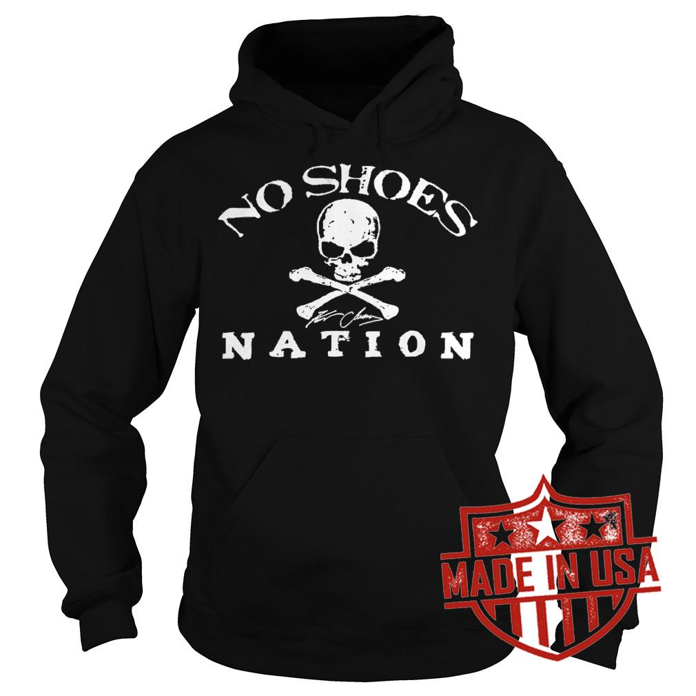 Premium No Shoes Nation Shirt Hoodie