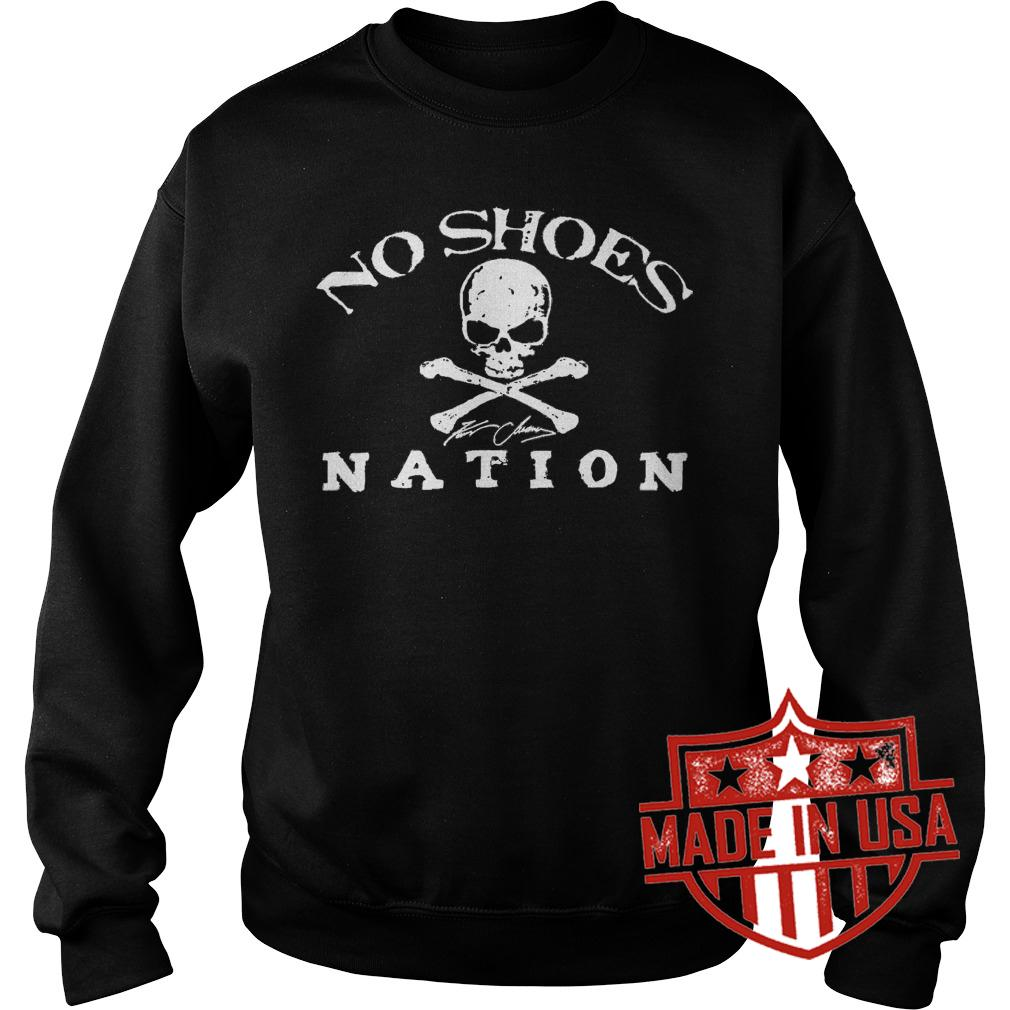 Premium No Shoes Nation Shirt Sweatshirt Unisex