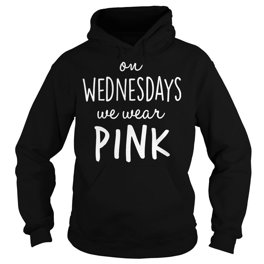 Mean girls on wednesdays we wear pink shirt Hoodie