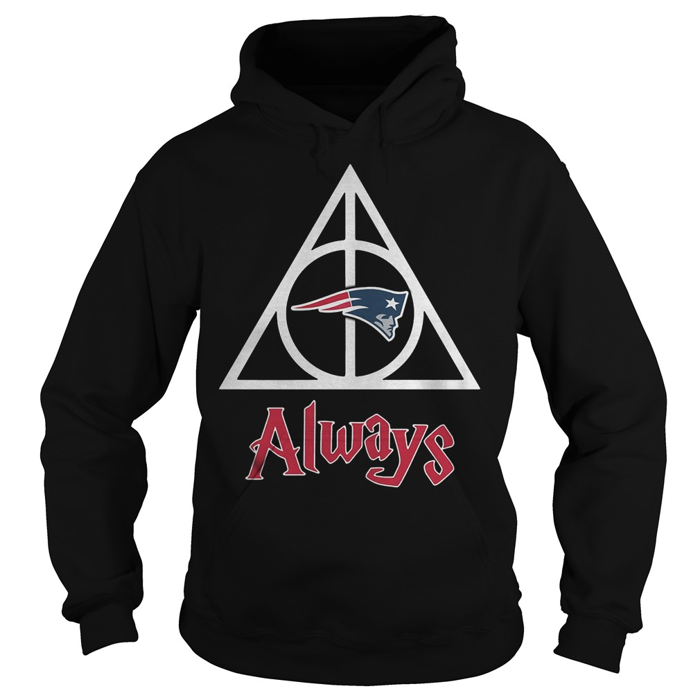 New England Patriots Harry Potter Deathly Hallows Always Shirt Hoodie