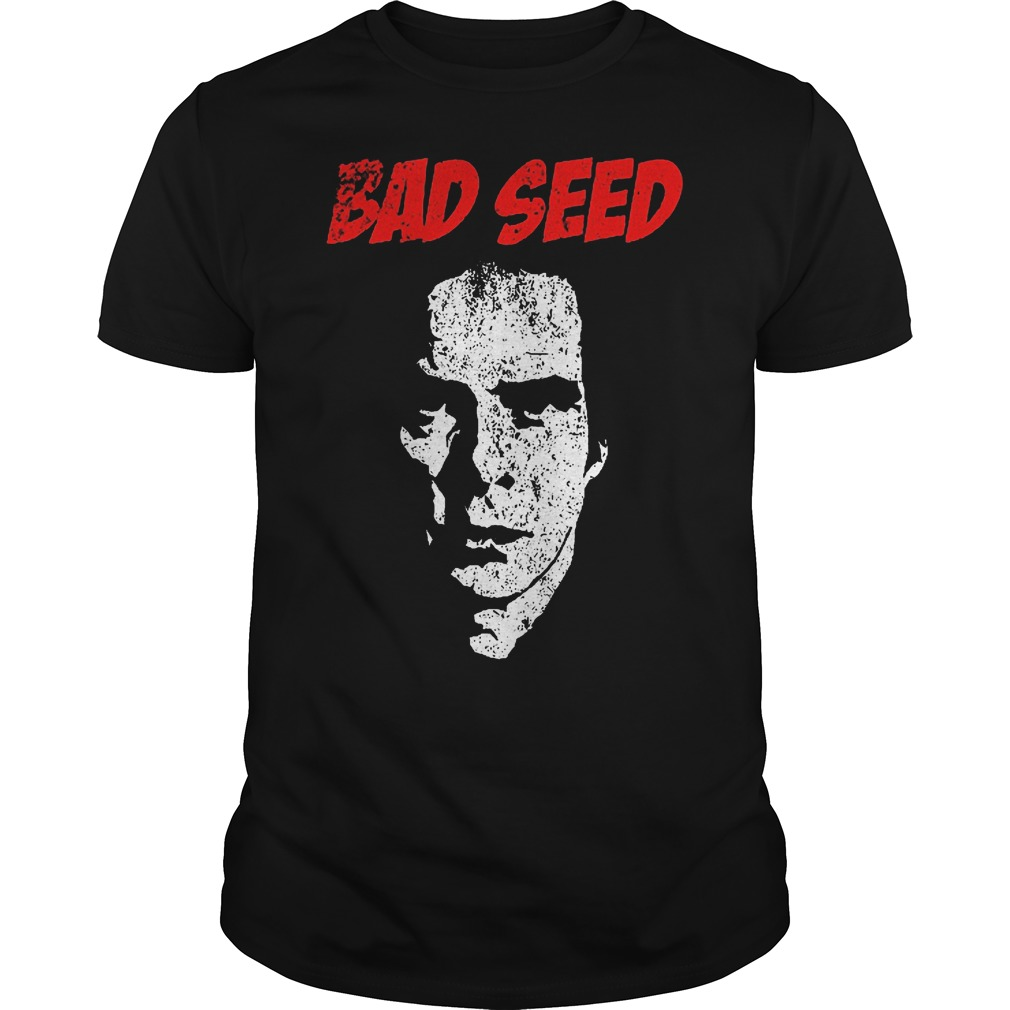 Nick Cave bad seed shirt
