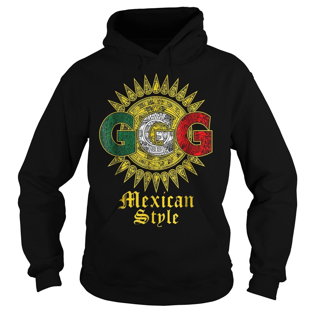 Triple G Sun Mexican shirt Hoodie