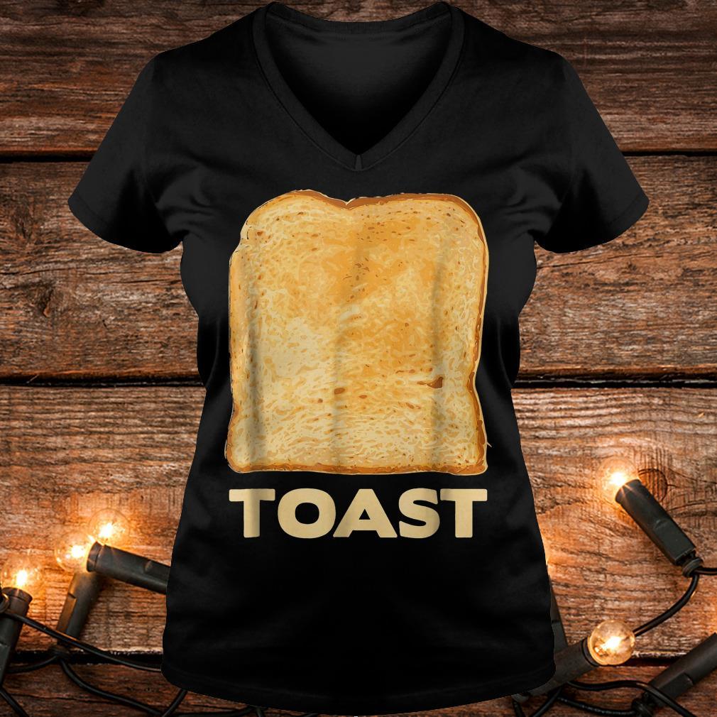Avocado toast costume matching halloween costumes Shirt Ladies V-Neck