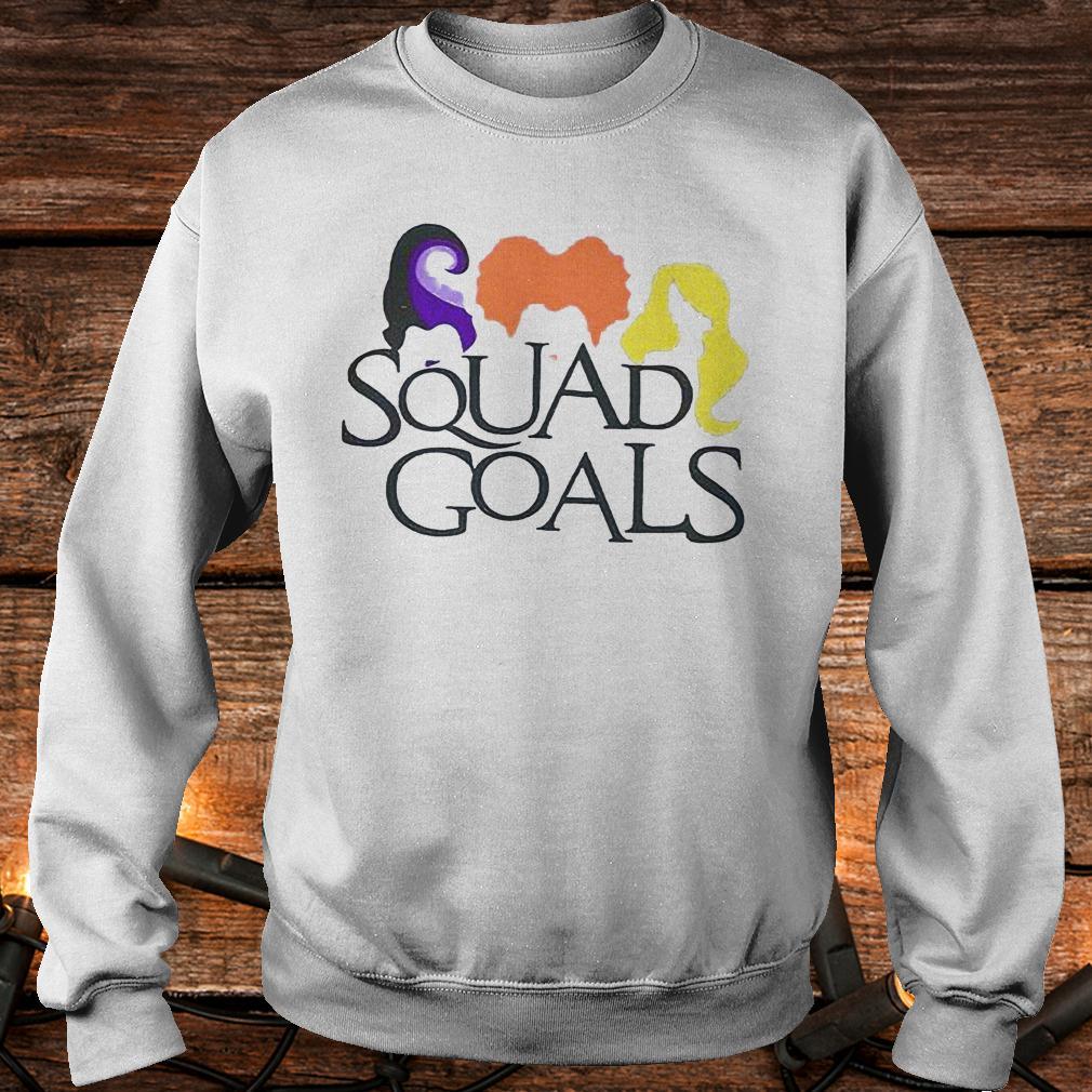 Best Price Hocus Pocus squad goals Shirt Sweatshirt Unisex