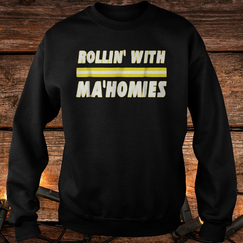 Best Price Rollin with Mahomies Shirt Sweatshirt Unisex