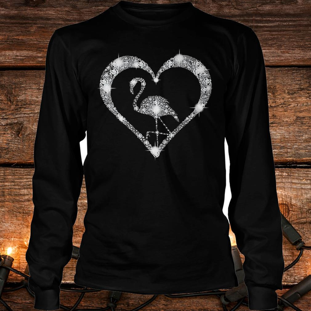 Diamond flamingo Shirt Longsleeve Tee Unisex