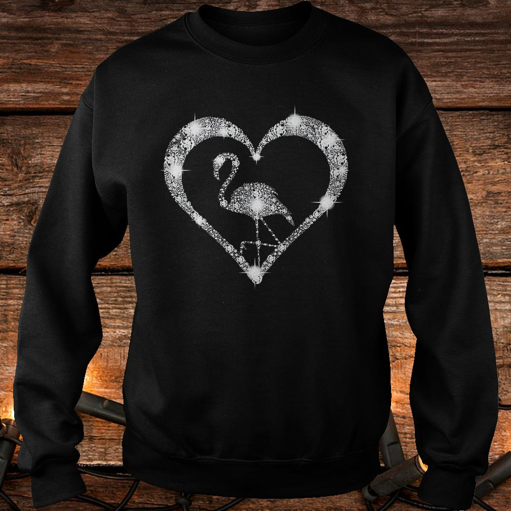 Diamond flamingo Shirt Sweatshirt Unisex