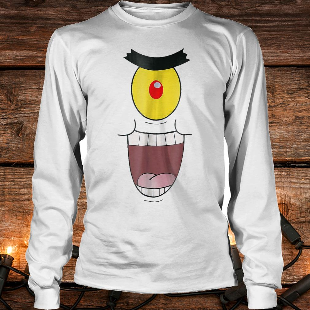 Plankton evil and funny laugh Shirt Longsleeve Tee Unisex