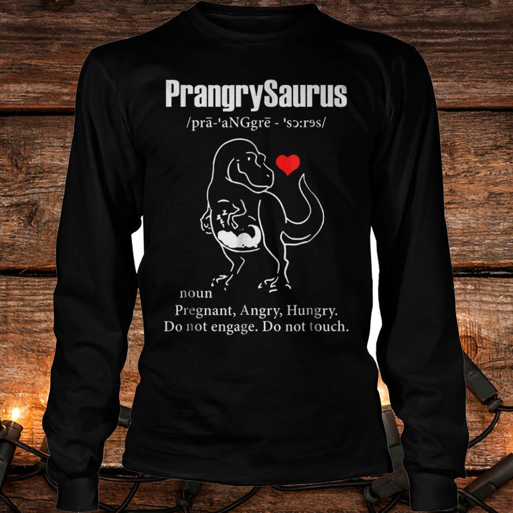 Premium PrangrySaurus Definition Shirt Longsleeve Tee Unisex