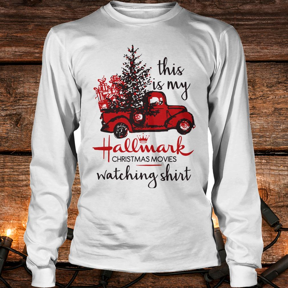 Premium This is my Hallmark christmas movies watching shirt Longsleeve Tee Unisex