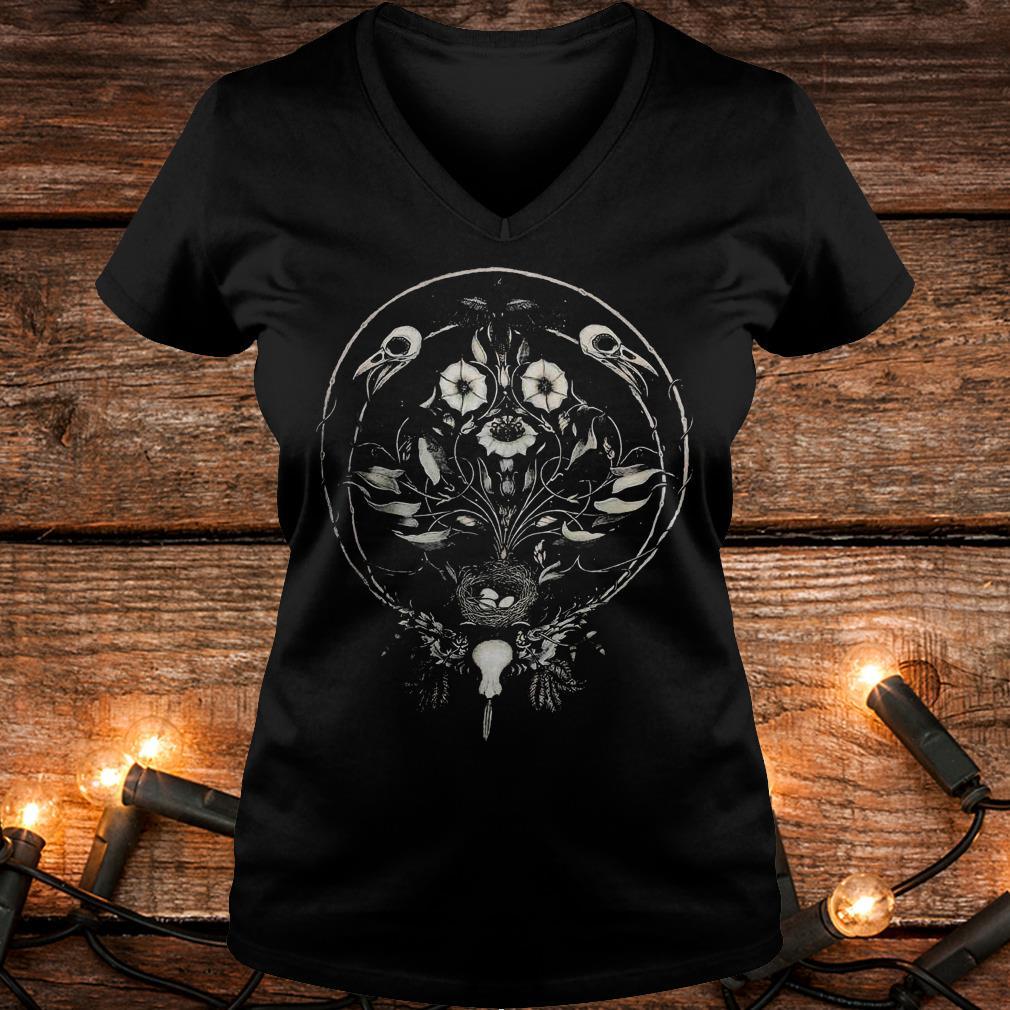 The Raven's Drum Shirt Ladies V-Neck