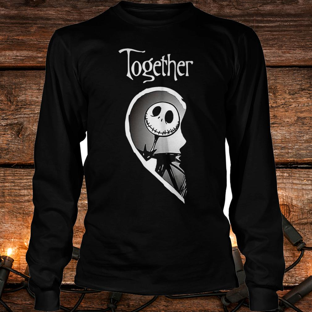 Together Jack Skellington shirt Longsleeve Tee Unisex