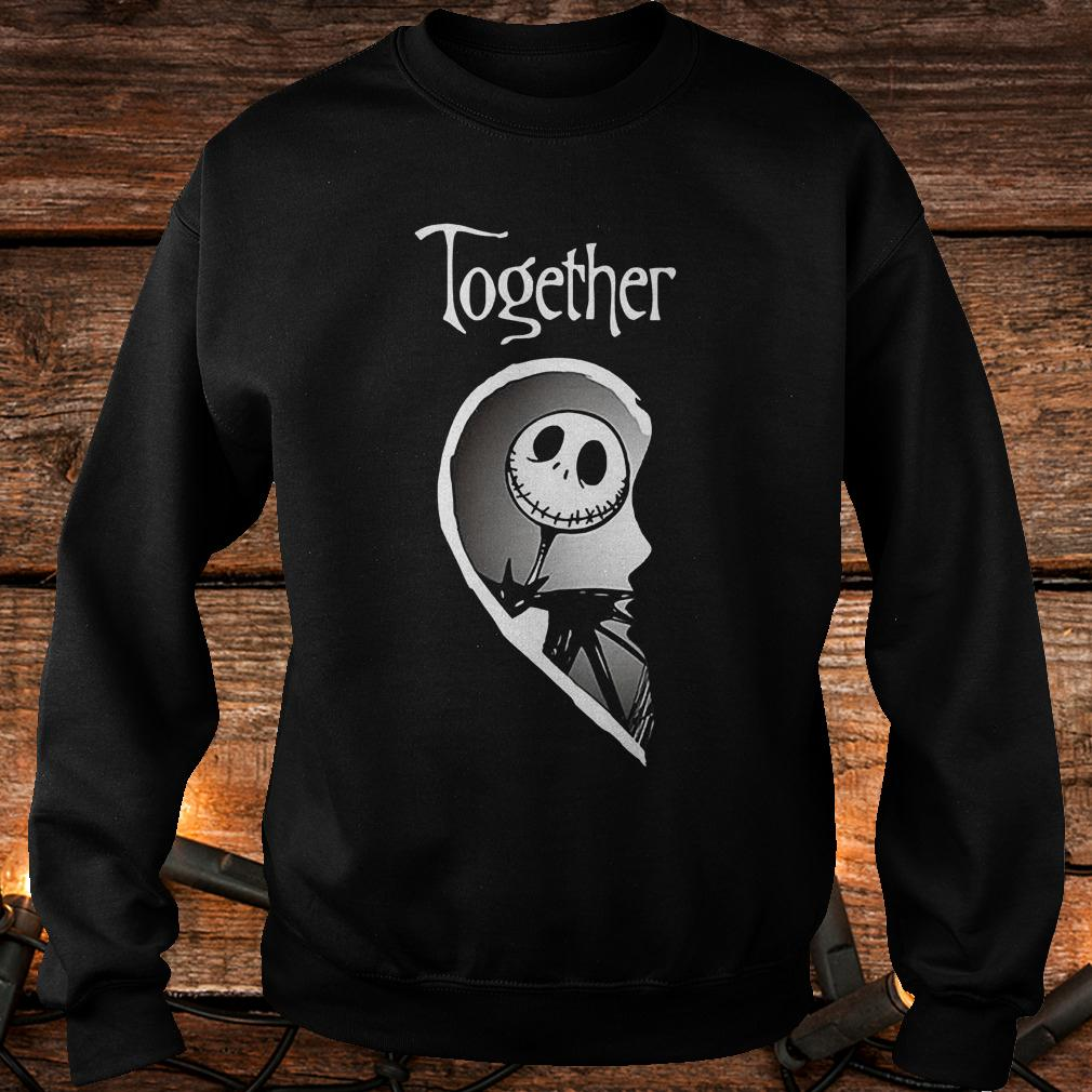 Together Jack Skellington shirt Sweatshirt Unisex