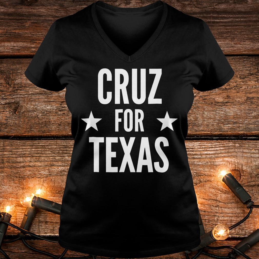 Top Cruz for Texas Shirt Ladies V-Neck