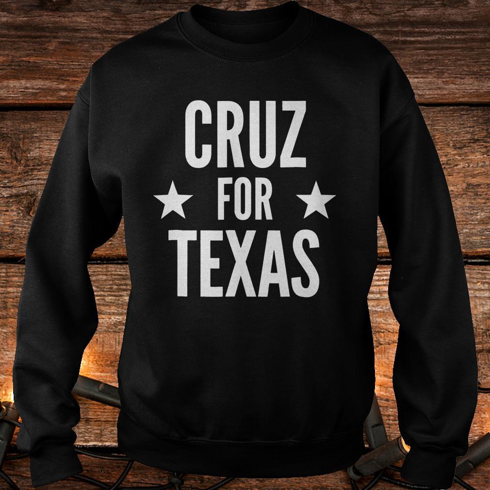 Top Cruz for Texas Shirt Sweatshirt Unisex