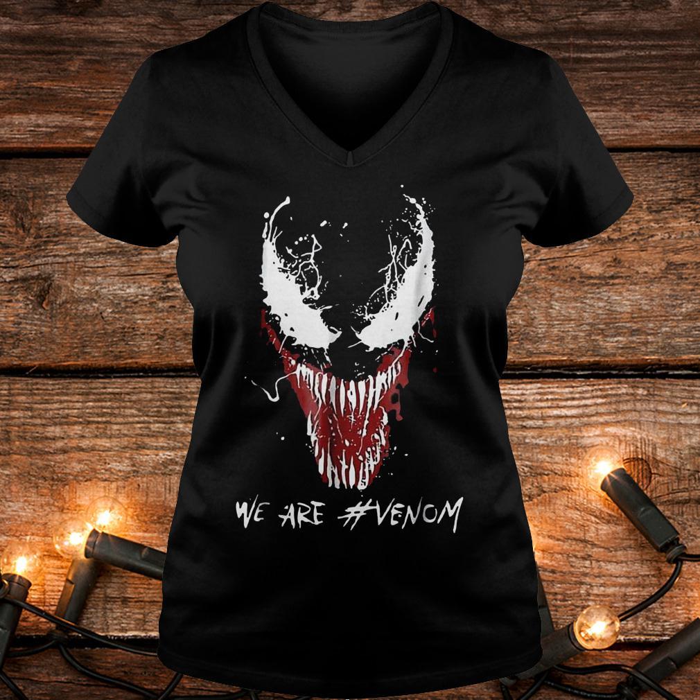 We are Venom shirt Ladies V-Neck