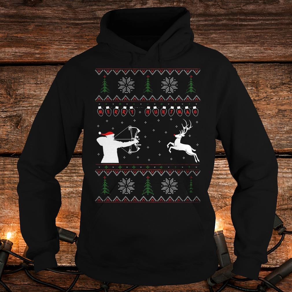 Awesome Merry huntmas sweater Hoodie