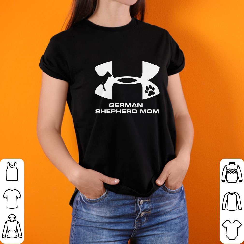 Awesome Under Armour German Shepherd Mom shirt