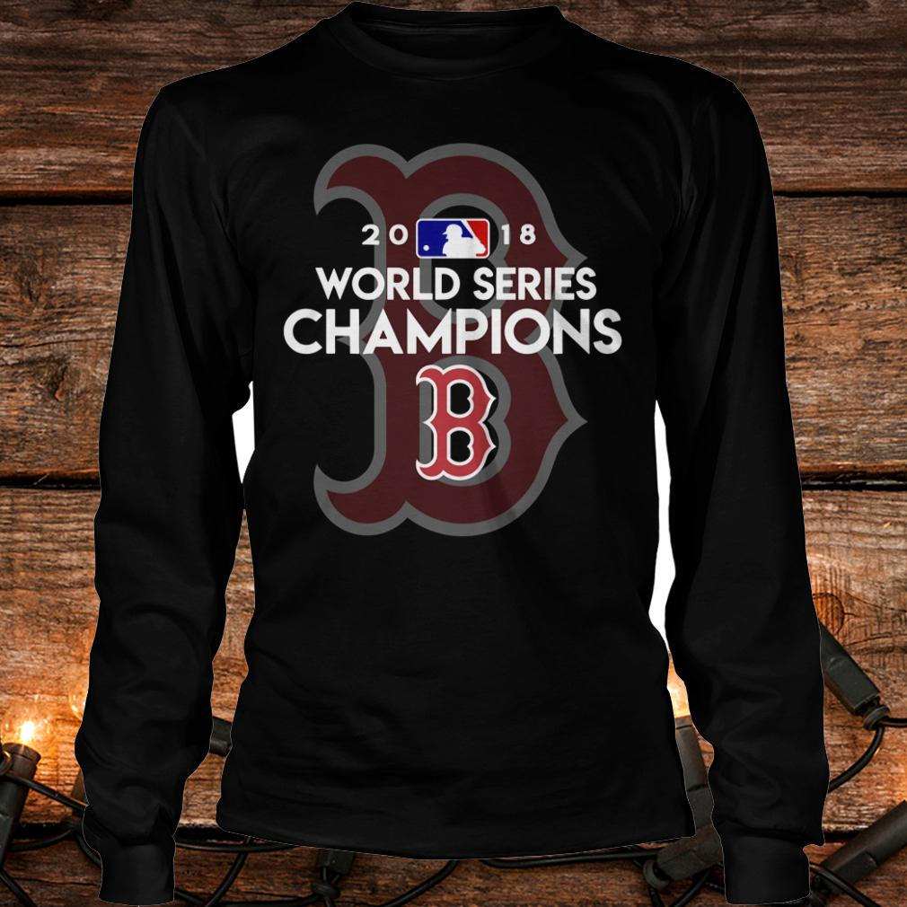 Best price Boston Red Sox world series champions shirt Longsleeve Tee Unisex