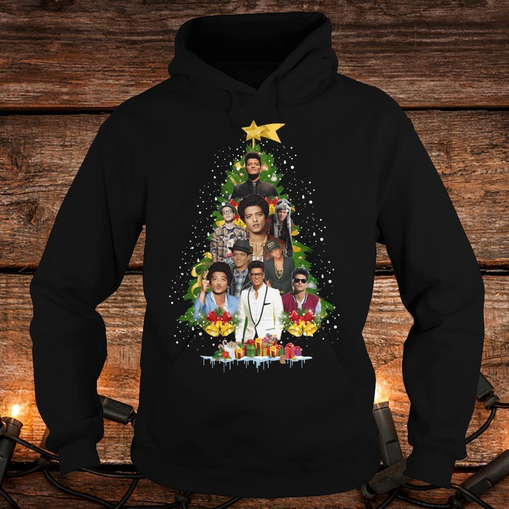 Best price Bruno Mars Christmas tree shirt Hoodie
