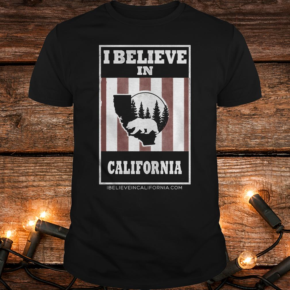 Funny Bear I believe in California wildfires Shirt Classic Guys / Unisex Tee