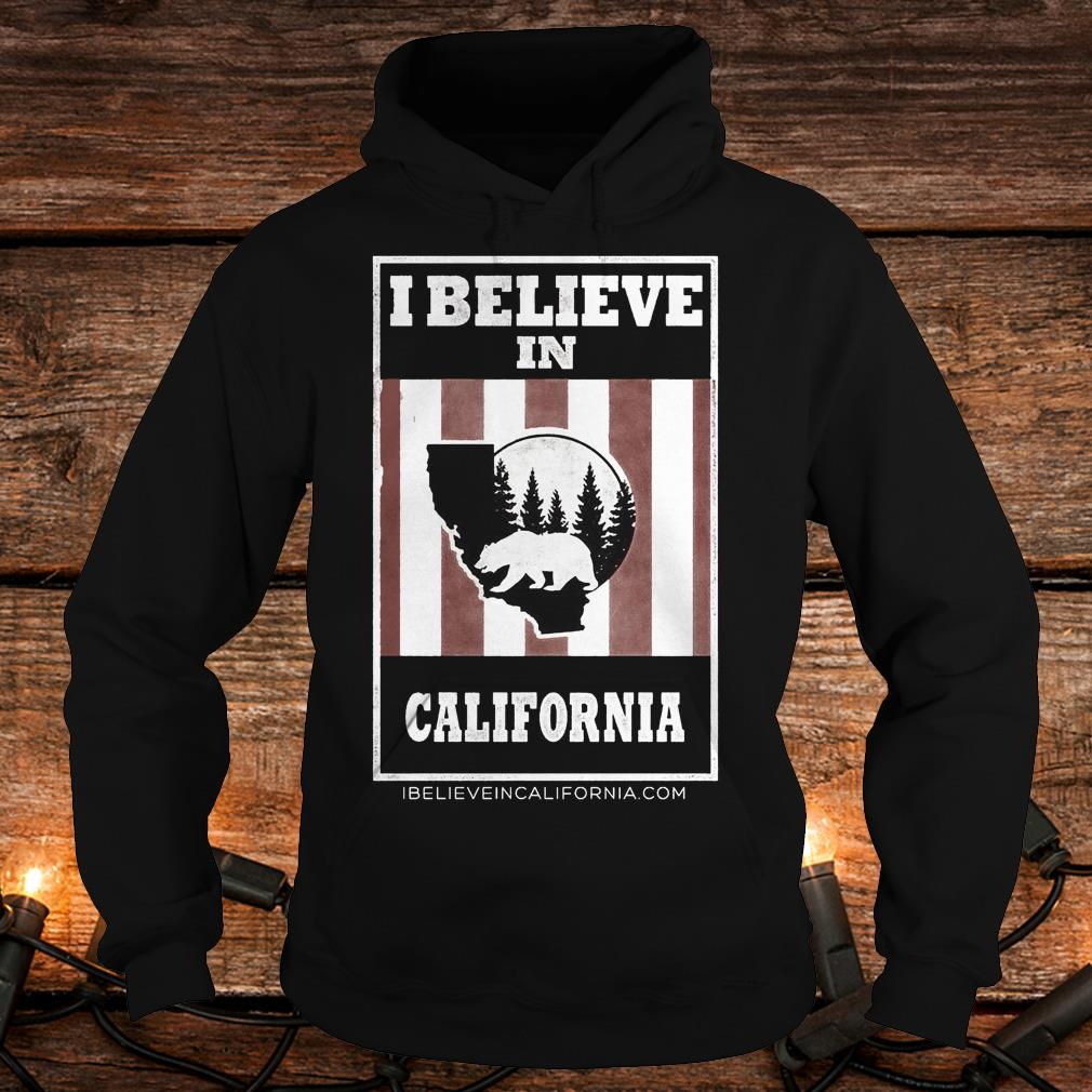 Funny Bear I believe in California wildfires Shirt