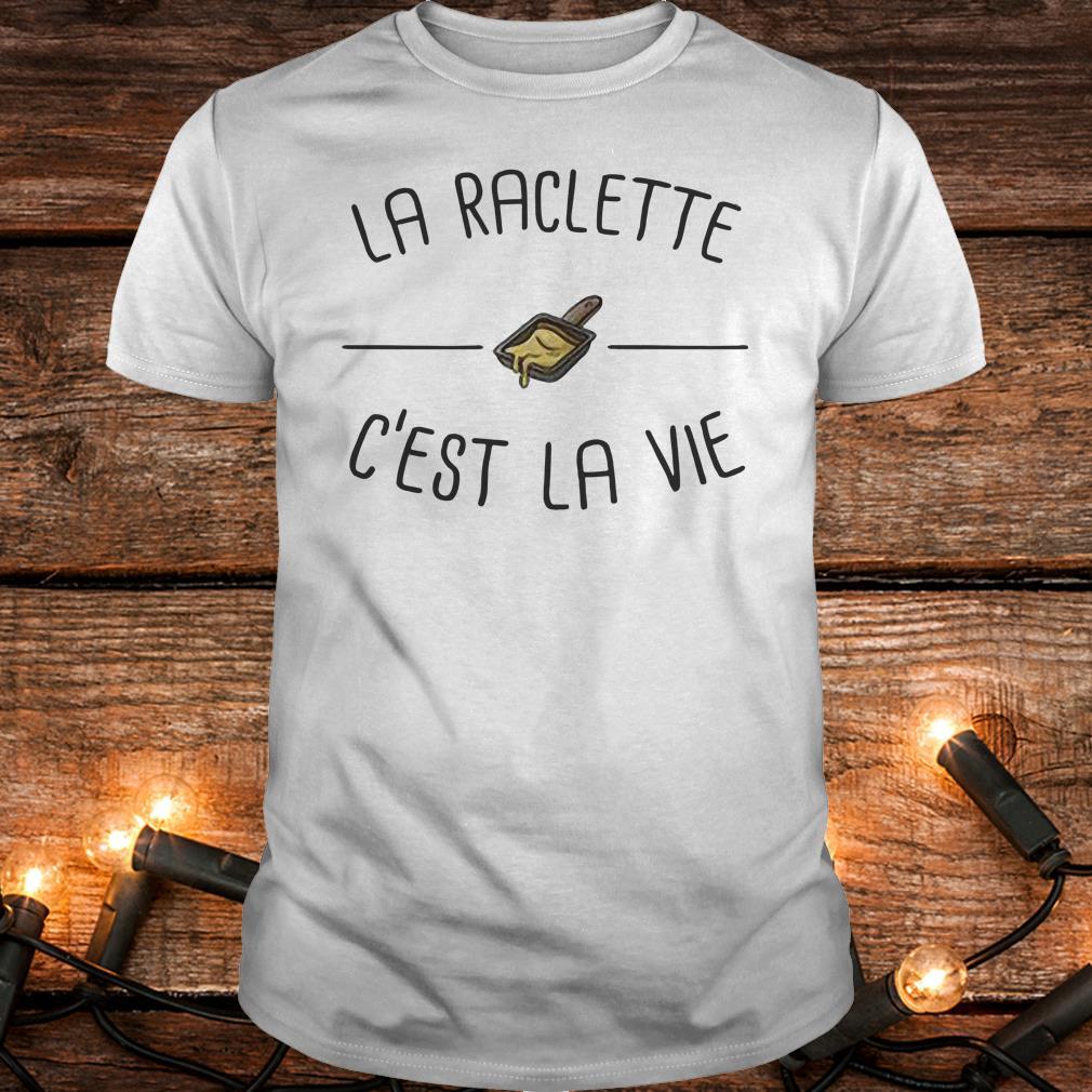 Funny La raclette C'est la vie shirt Classic Guys / Unisex Tee