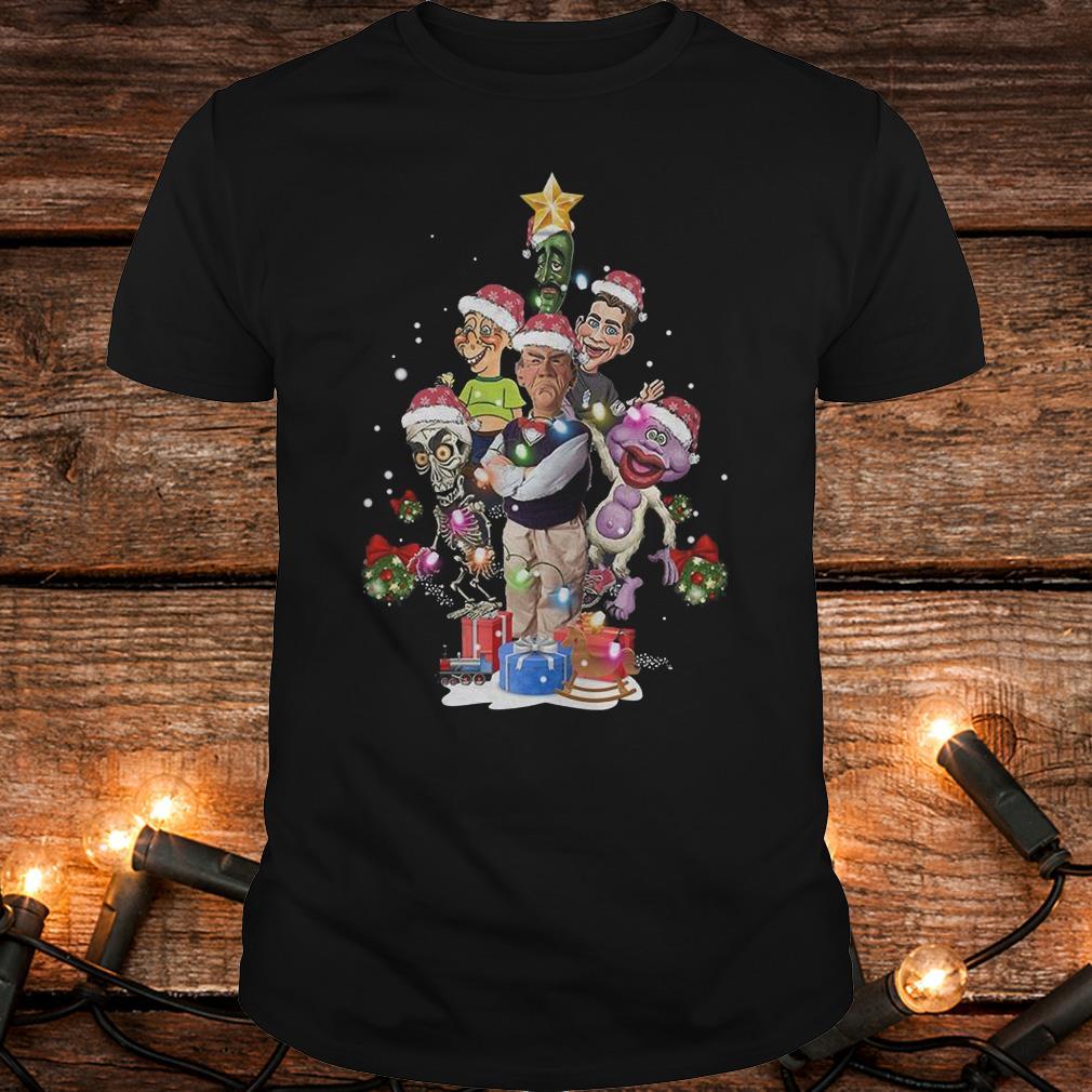 Nice Jeff Dunham Christmas Tree shirt Classic Guys / Unisex Tee