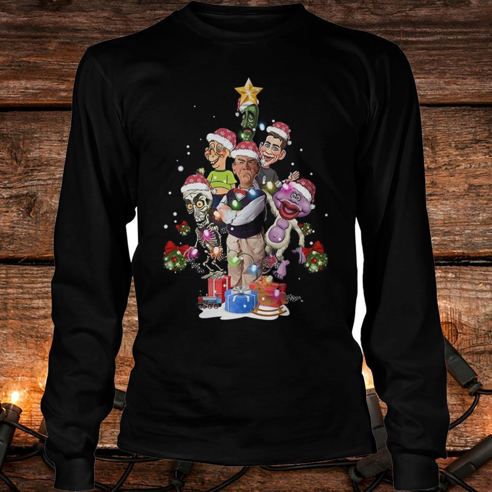 Nice Jeff Dunham Christmas Tree shirt Longsleeve Tee Unisex