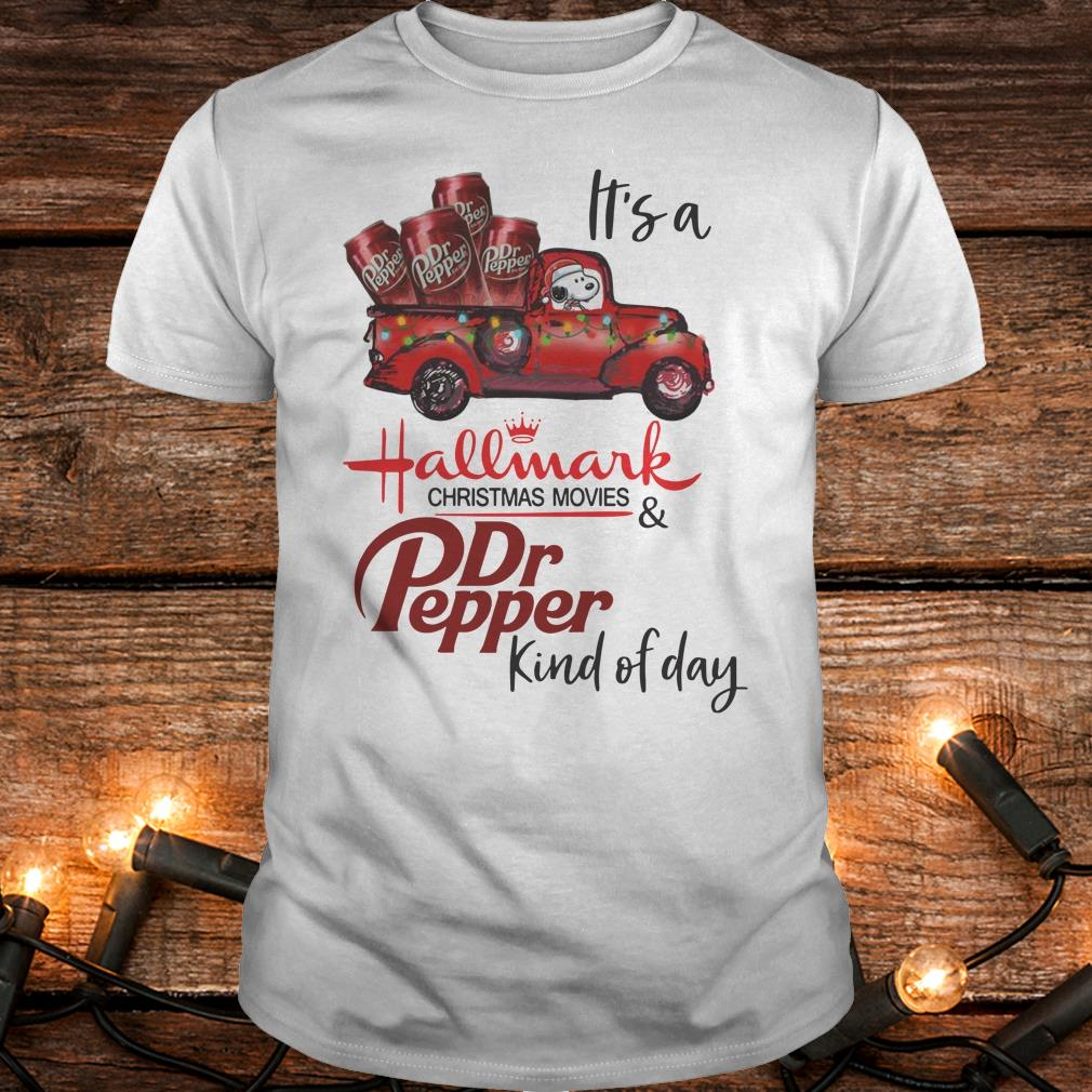 Original It's a Hallmark christmas movies Dr Pepper kind of day shirt Classic Guys / Unisex Tee