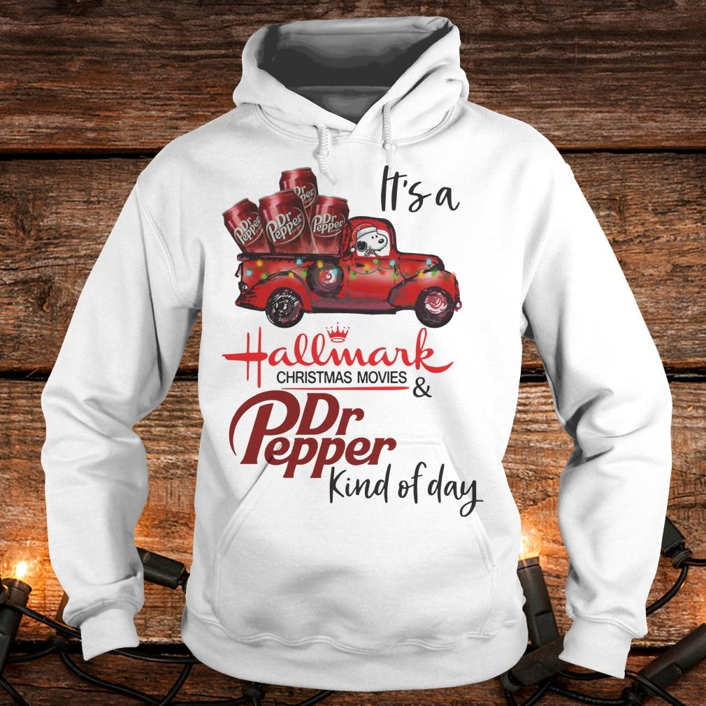 Original It's a Hallmark christmas movies Dr Pepper kind of day shirt Hoodie