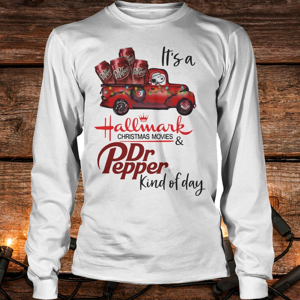 Original It's a Hallmark christmas movies Dr Pepper kind of day shirt Longsleeve Tee Unisex