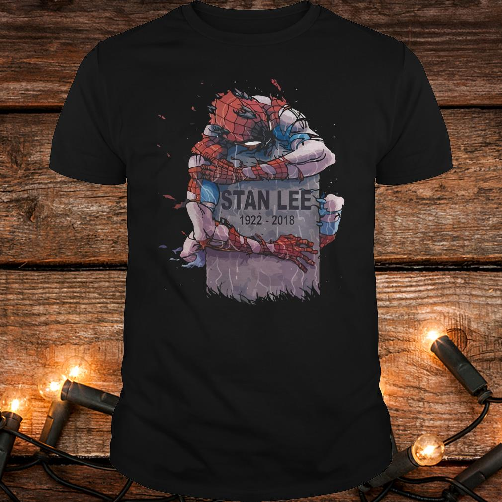 Original Spider Man hug Stan Lee Shirt Classic Guys / Unisex Tee