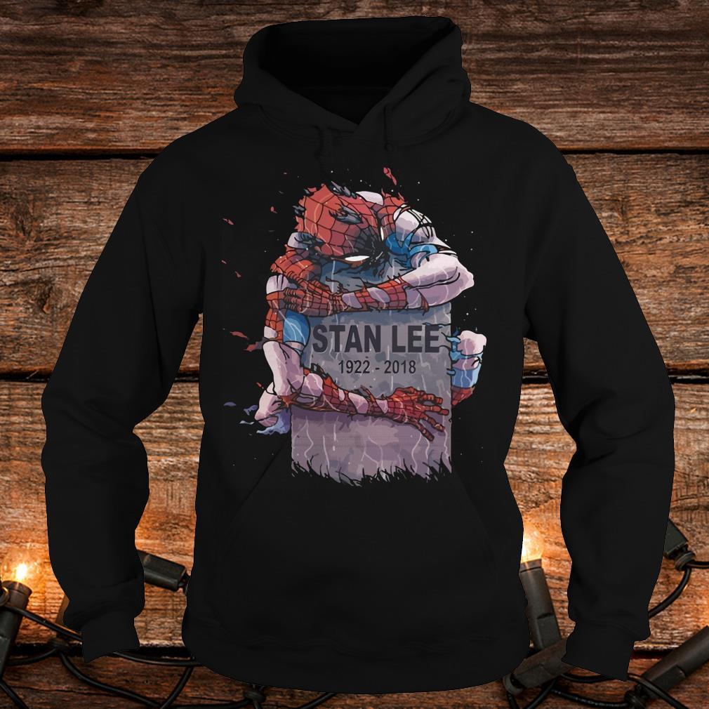 Original Spider Man hug Stan Lee Shirt Hoodie