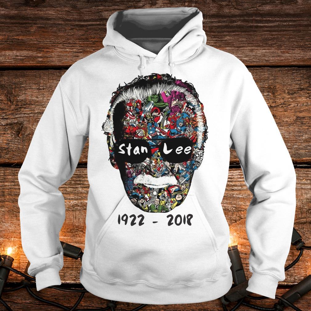Premium Stan Lee 1922 - 2018 Shirt Hoodie