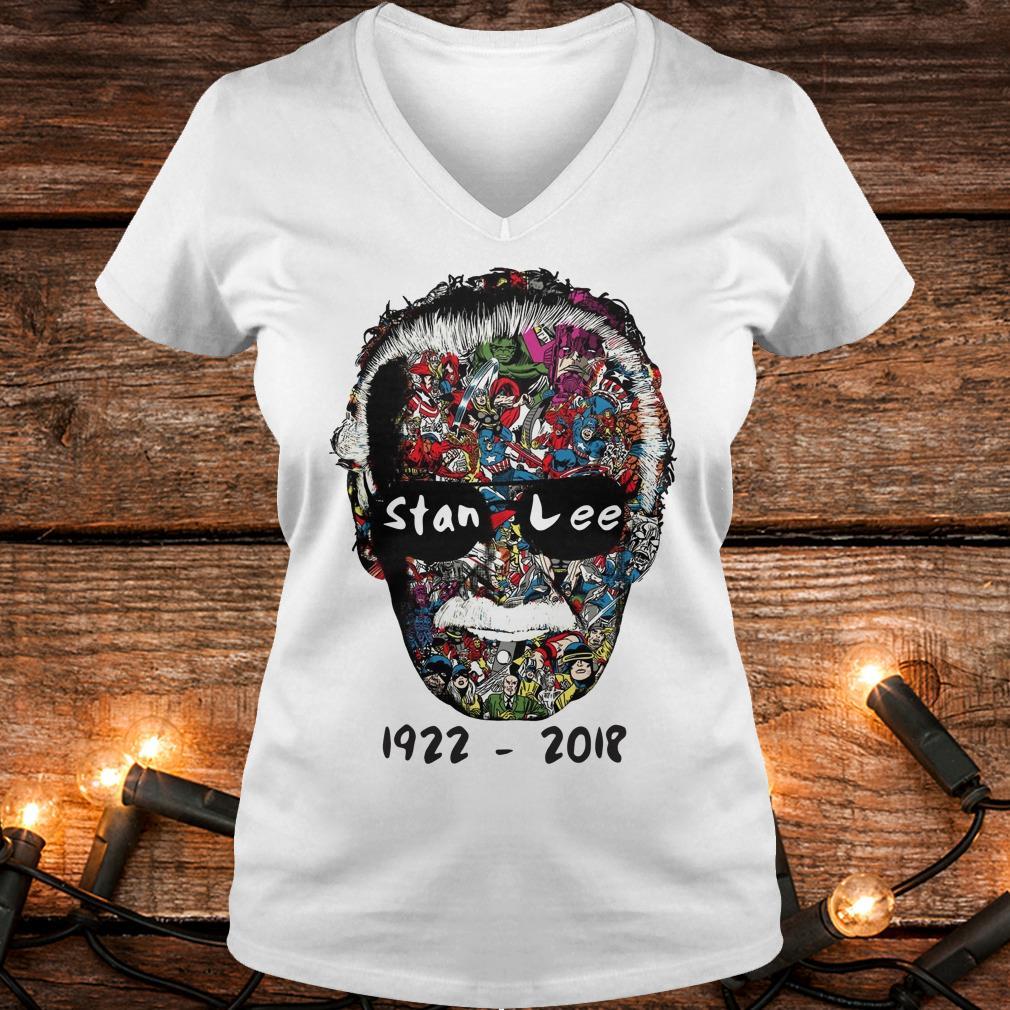 Premium Stan Lee 1922 - 2018 Shirt Ladies V-Neck